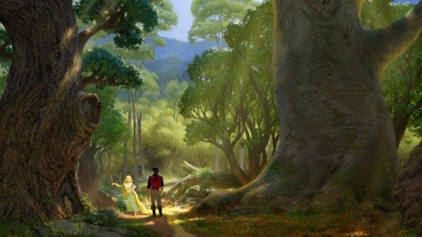 Rapunzel forest