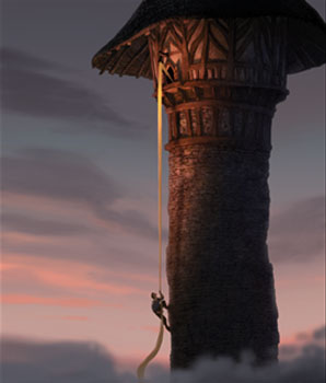 rapunzel_tower climbing