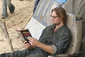 Sawyer reading