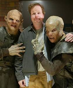 Joss Whedon (with a couple uber vamps)